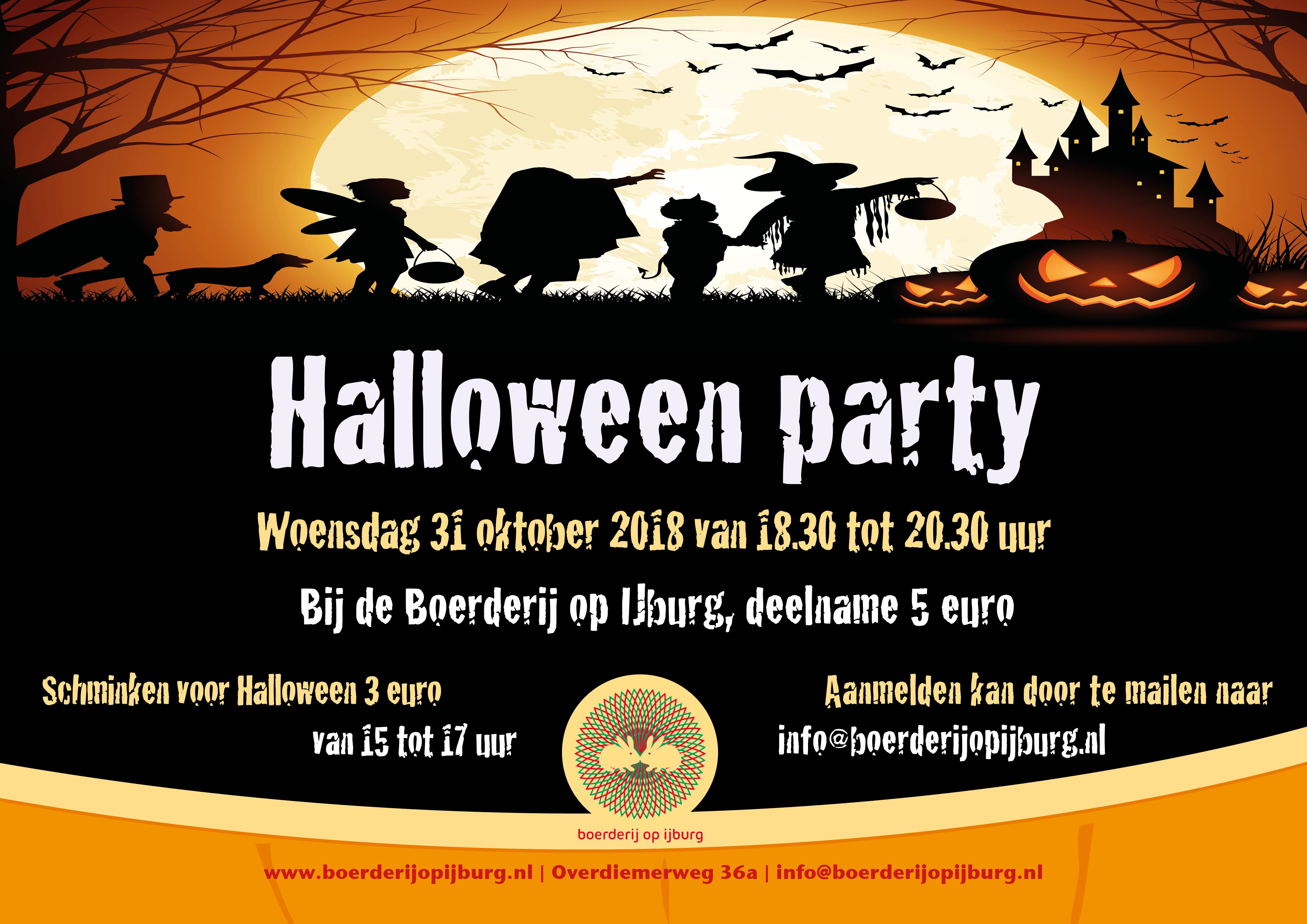31 Oktober Halloween Feest.Halloween Party Bij De Boerderij Op Ijburg
